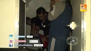 getlinkyoutube.com-سقوط مضرب عن الطعام في حالة اغماء في سيارة الاسعاف...