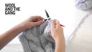 getlinkyoutube.com-How To Knit Cables