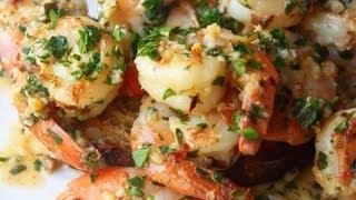 getlinkyoutube.com-Garlic Shrimp Recipe - Quick & Easy Garlic Shrimp