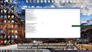getlinkyoutube.com-How to Make Batman: Arkham Knight Run Faster [Low Performance Fix] Part 2 [Windows Vista/7/8/8.1/10]