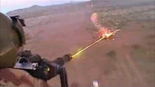 getlinkyoutube.com-Helicopter Minigun in Action Firing Shooting Training Video Chopper Gunships Dillon M134 Gatling Gun