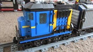 getlinkyoutube.com-Lego mini-Cargo Train(#60052)