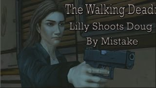 getlinkyoutube.com-The Walking Dead: Lilly Shoots Doug By Mistake (Episode 3)