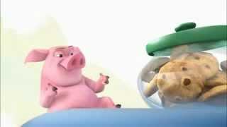 getlinkyoutube.com-Смешная свинья (смешной мультфильм)
