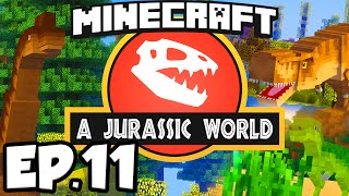 getlinkyoutube.com-Jurassic World: Minecraft Modded Survival Ep.11 - HUNT FOR FOSSILS!!! (Rexxit Modpack)