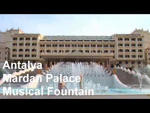 Oase Fountain Technology - Großprojekt: Musical Fountain [Mardan Palace in Antalya Turkey]