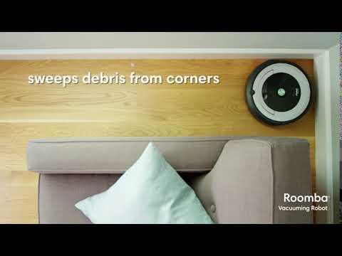 iRobot Roomba 606 Robot Vacuum Black - R606000