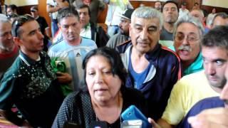 ASÍ FUERON LOS INCIDENTES EN EL CONCEJO DELIBERANTE