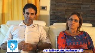 CALCIO: La Sportiva Cariatese -  Intervista al Presidente F. Greco ed al Mister A. Cosentino