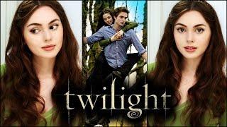 "getlinkyoutube.com-Bella Swan Everyday ""No-Makeup Makeup"" & Soft Curls | Twilight"