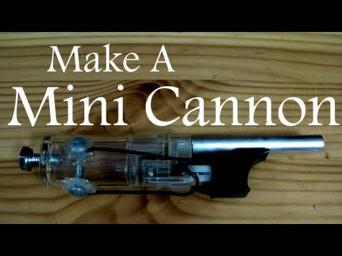 Turn a Lighter Into a Mini Cannon!