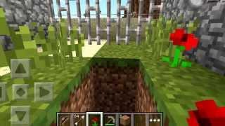 "getlinkyoutube.com-Minecraft Pocket Edition: The Crafting Dead ""first day"" #1"