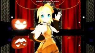 getlinkyoutube.com-Kagamine Rin - Happy Halloween【MMD】【HD】【English Sub】