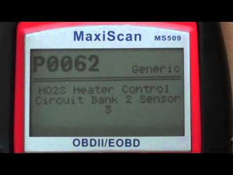 P0062 Diagnostic Trouble Code Problem Code Meaning