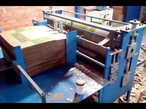 Máquina corte e vinco rotativa