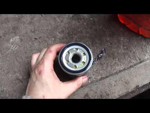 Замена фильтров и масла на geely ck