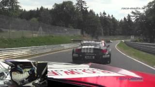 getlinkyoutube.com-Schubert Motorsport BMW Z4 GT3 Onboard 2 Laps VLN 4. Lauf 2011 Nürburgring Nordschleife