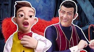 getlinkyoutube.com-Lazy Town We Are Number One but every time you hear 'One' Mine Song plays!