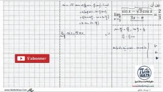 getlinkyoutube.com-حساب نهاية دالة مثلثية باستعمال صيغ التحويل وتغيير المتغير