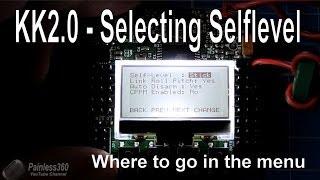 getlinkyoutube.com-Self level selection on KK2 0