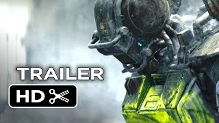 Chappie Official Trailer #2 (2015) - Hugh Jackman, Sigourney Weaver Robot Movie HD