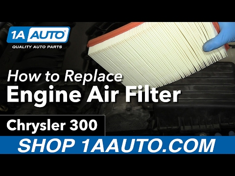 How to Replace Engine Air Filter 05-10 Chrysler 300