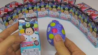 getlinkyoutube.com-Disney Tsum Tsum Surprise Egg Disney Characters Part 6 Unboxing ~ ディズニー ツムツム チョコエッグ