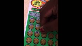 """getlinkyoutube.com-""""10X"""" Symbol. Winning $30 Scratch Off. Ga Lottery.  Watch to find out how much."""