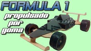 getlinkyoutube.com-Fórmula 1 propulsado por goma o bandita elástica, cómo se hace