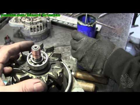 Chery QQ снятие и ремонт генератора
