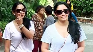 getlinkyoutube.com-Sanjay Dutt's Wife Manyata Casts VOTE At BMC Elections 2017