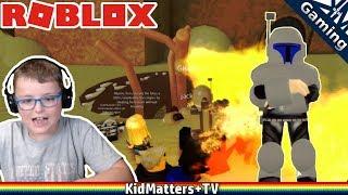 Sarlacc Pitt Showdown! | Roblox Star Wars Roleplay | Character Building | Worlds [KM+Gaming S01E52]