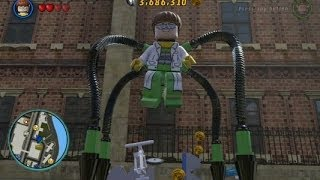 getlinkyoutube.com-LEGO Marvel Super Heroes (PS4) - Doctor Octopus Free Roam Gameplay