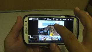 getlinkyoutube.com-Video Maker Android App On Samsung Galaxy S3 - Sprint Version