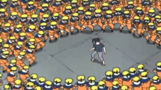 getlinkyoutube.com-Naruto vs Sasuke at Hospital Full Fight English Dub