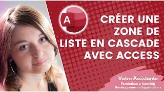 getlinkyoutube.com-Créer une zone de liste en cascade avec Access
