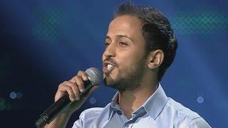getlinkyoutube.com-غسان بن ابراهيم - قالوا حبيبك مسافر - مرحلة الصوت وبس – MBCTheVoice