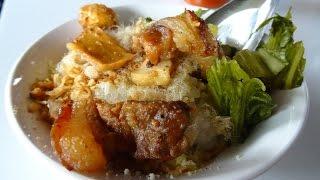 getlinkyoutube.com-กินอาหารในตลาดบั๊กกัน ăn sáng Bắc Kạn Province vietnam