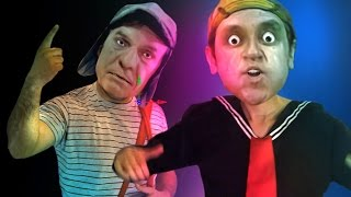 getlinkyoutube.com-Chavo vs Quico - La Batalla definitiva