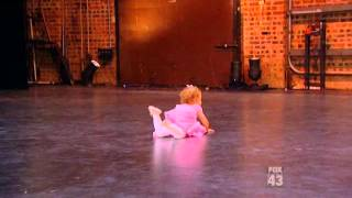 getlinkyoutube.com-2 Year Old Girl Dancing Ballet on SYTYCD 2012