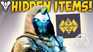 Destiny 2: HIDDEN DLC 2 ITEMS! Rasputin Secrets, Bungie Exclusive Loot & March Update