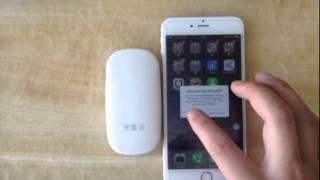 getlinkyoutube.com-Bluetooth dual sim adapter no jailbreak for iphone6/6plus Pocket mate 3G gmate high speed Internet