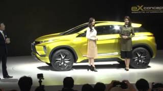 getlinkyoutube.com-【東京モーターショー2015】三菱自動車は、得意な「SUV」と「電動化技術」をアピール