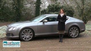 Bentley Continental GT review - CarBuyer