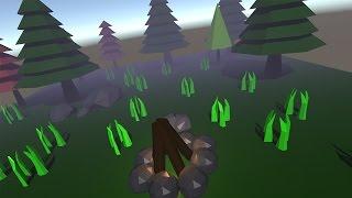 getlinkyoutube.com-Low Poly Forest Bundle Timelapse in Blender and Unity 5.1