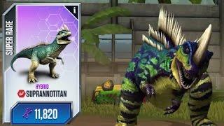 getlinkyoutube.com-LEVEL 40 SUPRANNOTITAN - Jurassic world the game