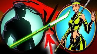 getlinkyoutube.com-Shadow Fight 2 ОСА ПОБЕЖДЕНА ЕЁ ЖЕ ОРУЖИЕМ