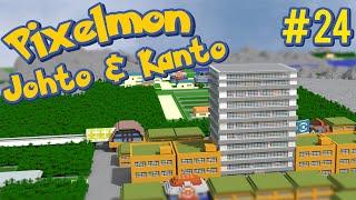 Saffron City - Pixelmon Johto and Kanto Minecraft Map Ep. 24