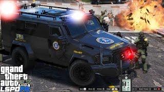 getlinkyoutube.com-GTA 5 LSPDFR Police Mod | Live Stream | The War On Drugs Part 2 | Major FBI Drug & Gang Take Down