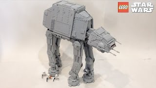 HUGE Lego Star Wars Custom AT-AT Walker Review
